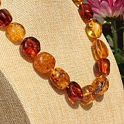 Amber Necklace 49 cm