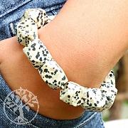 Dalmatiner Jaspis Armband Nugget facettierte Edelsteine Perlen