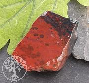 Heliotrop Steinscheibe mit poliertem Rand Rot Ca. 35 mm