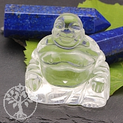 Crystal Buddha Carving 50mm AA Gemstone Quality