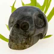 Labradorite Skull Small Gemstone High Quality