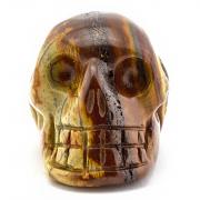 Tigeriron Skull Edelstein hohe Qualität