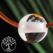 Bergkristall Kugel Anhänger 10 mm Großes Loch A Qualität
