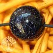 Blaufluss Kugel-Anhänger mit Loch 12mm
