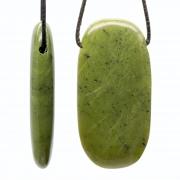 Echte Jade Anhänger 60x31mm Toller großer Jade Anhänger