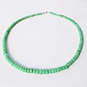Chrysopras Halskette Runde Form Perlen 46 Cm