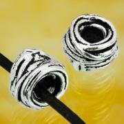 Silber Perlen Drahtrolle Sterling Silber 925 6x4mm