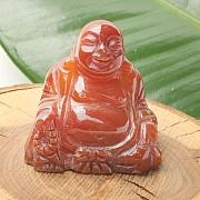 Carneol Buddha 50x50x30mm 001 Edelstein Buddha Karneol