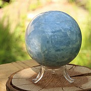 Stone sphere blue calcite 70mm