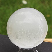 Selenit Gemstone Sphere 82-90mm appr.
