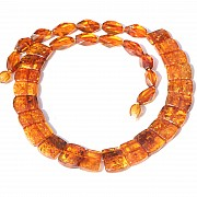 Amber NecklaceCollier cognac Natural Amber neklace