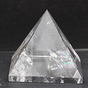Rock crystal pyramid 33x36 mm