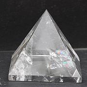 Bergkristall  Pyramide 33x36 mm A Qualität sehr klar Einzelstück