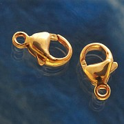 Trigger Clasp Gold Filled 14K 1/20 Hamilton 9mm with ring