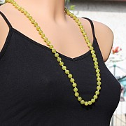 Korean Jade Necklace 75cm/8mm beads