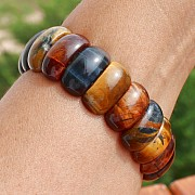 Tigerauge Armband Tigerauge / Falkenauge / rotes Tigerauge Armband 20x10mm Perlen