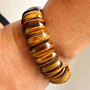 Tigerauge Armband 20X10 mm