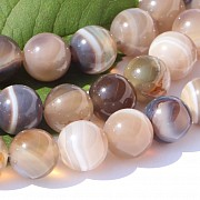 Agate Beads 10mm / 38-39cm beads strand