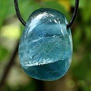 Fluorit Blue Stone Pendant 18mm