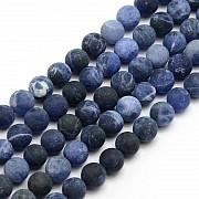 Sodalite Round beads matt 4mm 38/39cm