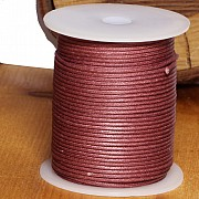 Cotton Cord 1.5mm 50 Meter copper