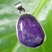 Sugilith Pendant in Silver 925
