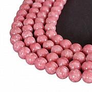 Thulit Perlen 10mm A Qualität 40cm Perlen Strang.