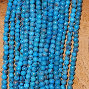 Turquoise Beads AA 4mm Round Beads