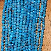 Türkis Perlen Kugel 4mm AA Natur Türkis