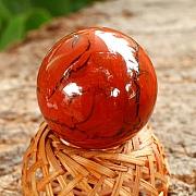 Jaspis Rot Edelsteinkugel Stein Kugel  30mm A