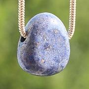 Dumortierit Gemstone Pendant Stone 18X13mm