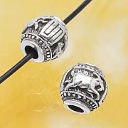 Silberperle Ziege, Das Jahr der Ziege Sterlingsilber 925 10mm