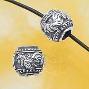 Silberperle - Das Jahr des Hahns - Sterlingsilber 925 10mm