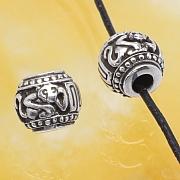 Silberperlen - Das Jahr des Affen - Sterlingsilber 925 10mm