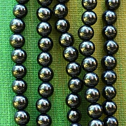 Turmalin Black Beads 6mm 40cm