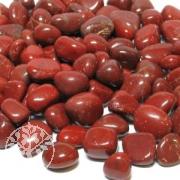 Roter Jaspis Trommelsteine 1kg 14-30 MM