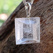 Crystal Pendant Silver 925 16mm