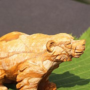 Animal carving Picture Jasper 78X35 cm
