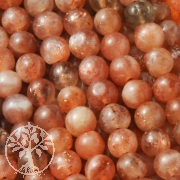 Sunstone Gemstone Beads 8mm/40cm AA
