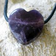 Herz aus Amethyst