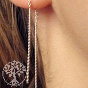 Silver Earrings SIOH3