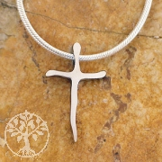 Stainless steel cross pendant ESKR1
