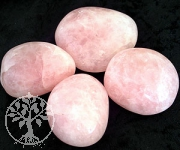 Big Rosequarz Tumbled stones 1 kg