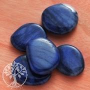 Blauquarz Flache Seifensteine 3 Stück