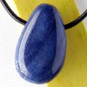 Blauquarz Anhänger A Gute Edelstein Qualität Steinanhänger 25/30mm