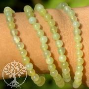 China Jade Gemstone Bracelet Serpentine 6mm
