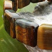 Tigerauge Armband Quattro 20mm