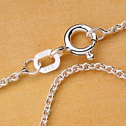 Marine Silver Necklace 50cm 0,8mm Sterlingsilver