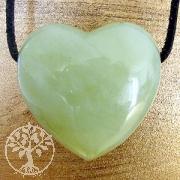 China Jade Herz Anhänger Belly 30*25mm Jadeanhänger