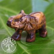 Elefant aus Tigerauge ca. 40mm